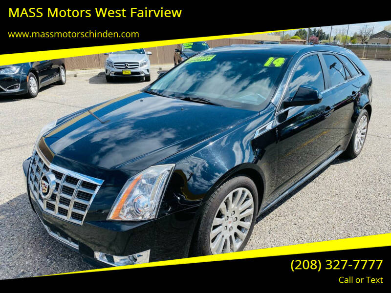 2014 Cadillac CTS for sale at M.A.S.S. Motors - West Fairview in Boise ID