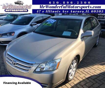 2005 Toyota Avalon for sale at Mr Wonderful Motorsports in Aurora IL