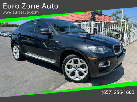 2013 BMW X6 for sale at Euro Zone Auto in Stanton CA