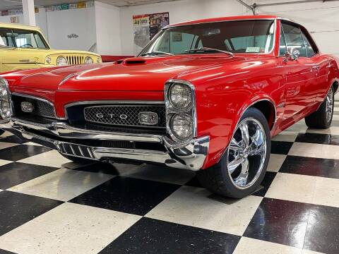 1967 Pontiac GTO for sale at AB Classics in Malone NY