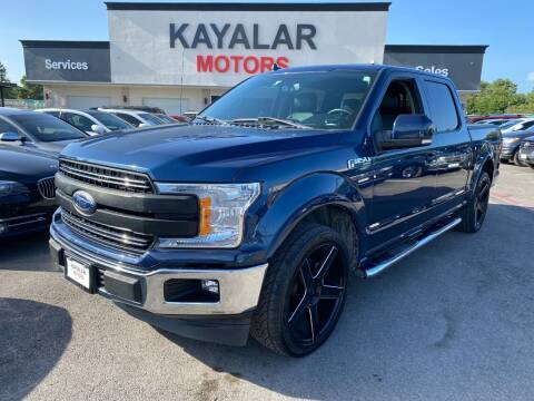 2018 Ford F-150 for sale at KAYALAR MOTORS in Houston TX