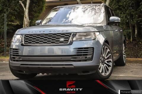 2019 Land Rover Range Rover for sale at Gravity Autos Atlanta in Atlanta GA