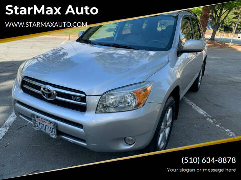 2007 Toyota RAV4 for sale at StarMax Auto in Fremont CA
