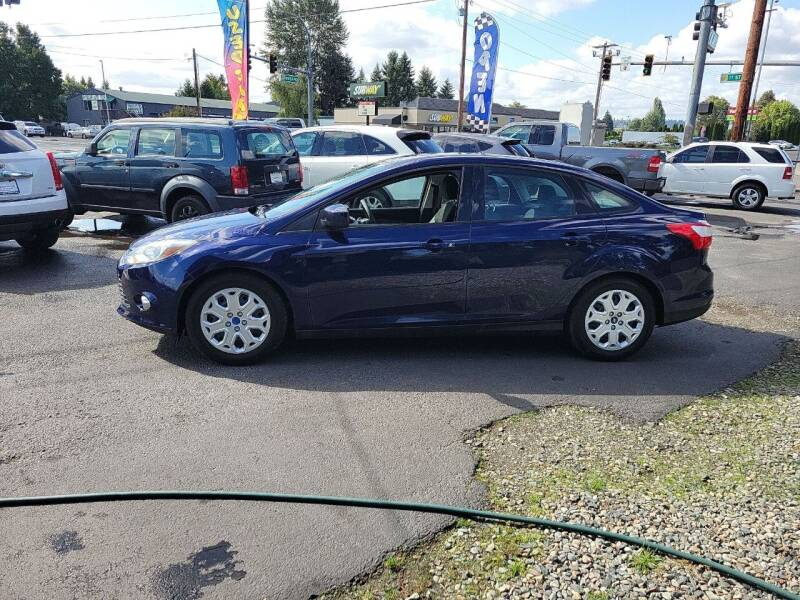 2012 Ford Focus for sale at Bonney Lake Used Cars in Puyallup WA
