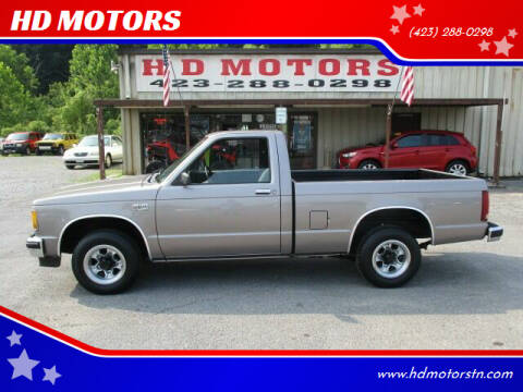 1986 Chevrolet S-10 for sale at HD MOTORS in Kingsport TN