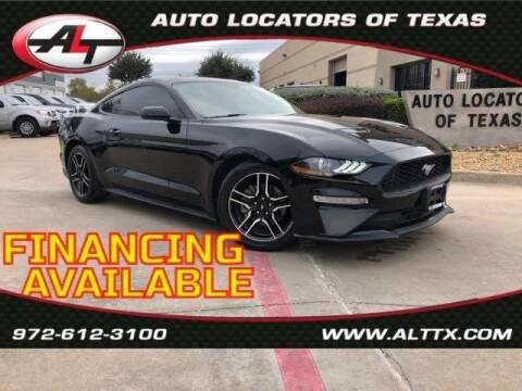 2018 Ford Mustang for sale at AUTO LOCATORS OF TEXAS in Plano TX