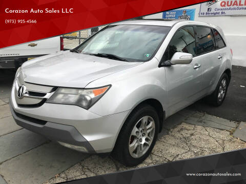 2008 Acura MDX for sale at Corazon Auto Sales LLC in Paterson NJ