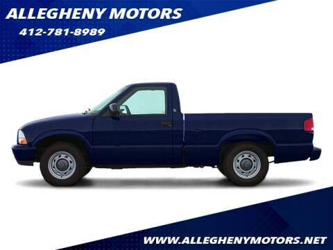 2003 GMC Sonoma for sale at Allegheny Motors in Pittsburgh PA