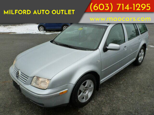 2004 Volkswagen Jetta for sale at Milford Auto Outlet in Milford NH