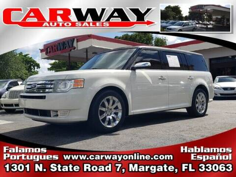 2009 Ford Flex for sale at CARWAY Auto Sales in Margate FL