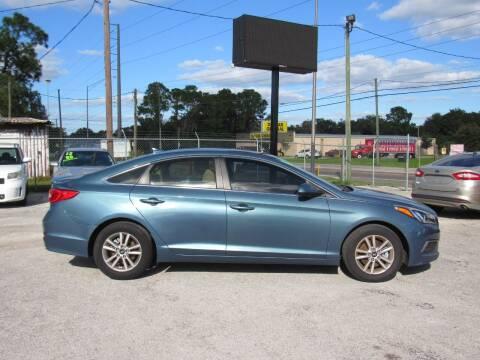 2016 Hyundai Sonata for sale at Checkered Flag Auto Sales EAST in Lakeland FL