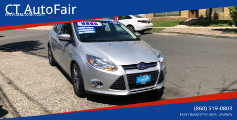 2014 Ford Focus for sale at CT AutoFair in West Hartford CT