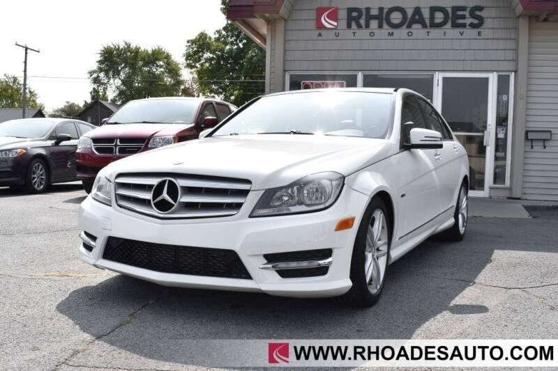 2012 Mercedes-Benz C-Class for sale at Rhoades Automotive in Columbia City IN
