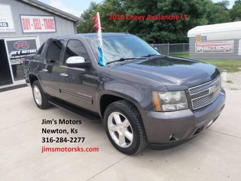 2010 Chevrolet Avalanche for sale at Jim's Motors in Newton KS