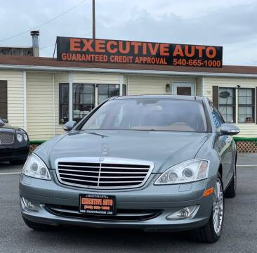 2007 Mercedes-Benz S-Class for sale at Executive Auto in Winchester VA