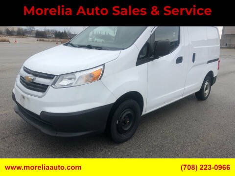 2015 Chevrolet City Express Cargo for sale at Morelia Auto Sales & Service in Maywood IL