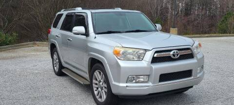 2011 Toyota 4Runner for sale at CU Carfinders in Norcross GA