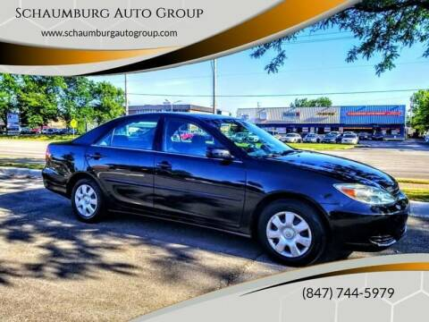 2002 Toyota Camry for sale at Schaumburg Auto Group in Schaumburg IL