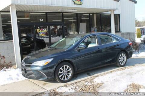 2015 Toyota Camry for sale at Corvette Mike New England in Carver MA