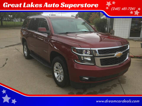 2016 Chevrolet Tahoe for sale at Great Lakes Auto Superstore in Pontiac MI