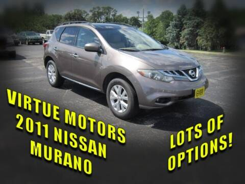 2011 Nissan Murano for sale at Virtue Motors in Darlington WI