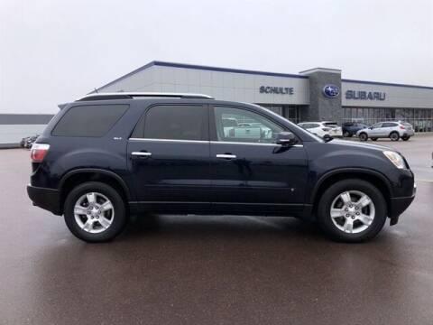 2009 GMC Acadia for sale at Schulte Subaru in Sioux Falls SD