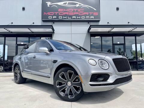 2020 Bentley Bentayga for sale at Exotic Motorsports of Oklahoma in Edmond OK