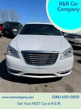 2013 Chrysler 200 for sale at R&R Car Company in Mount Clemens MI