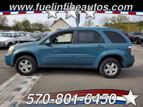 2008 Chevrolet Equinox for sale at FUELIN FINE AUTO SALES INC in Saylorsburg PA