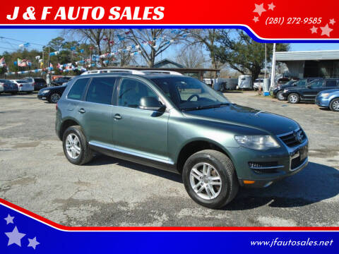 2008 Volkswagen Touareg 2 for sale at J & F AUTO SALES in Houston TX