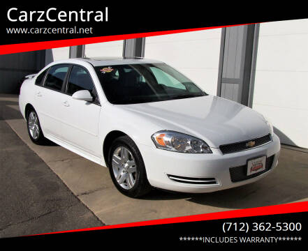 2013 Chevrolet Impala for sale at CarzCentral in Estherville IA