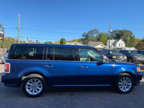 2012 Ford Flex for sale at RIVERSIDE AUTO SALES in Sioux City IA