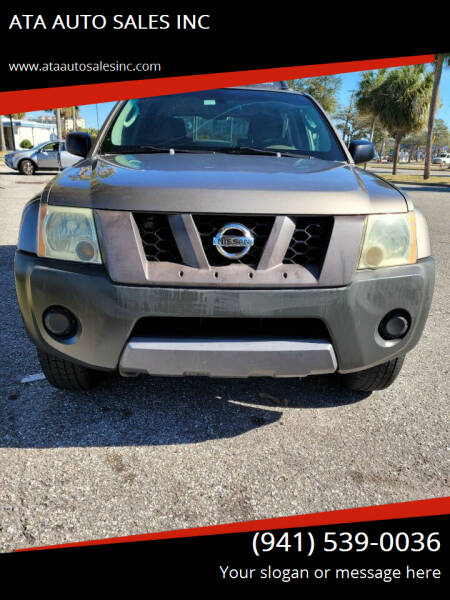 2005 Nissan Xterra for sale at ATA   AUTO SALES INC in Sarasota FL