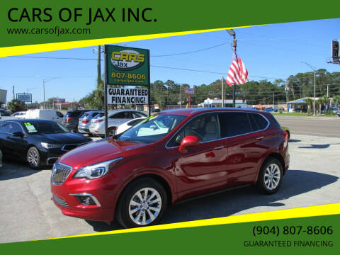 2017 Buick Envision for sale at CARS OF JAX INC. in Jacksonville FL