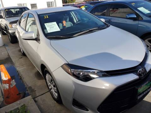 2017 Toyota Corolla for sale at Express Auto Sales in Los Angeles CA