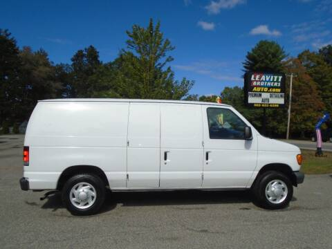 2007 Ford E-Series Cargo for sale at Leavitt Brothers Auto in Hooksett NH