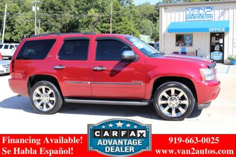 2010 Chevrolet Tahoe for sale at Van 2 Auto Sales Inc in Siler City NC