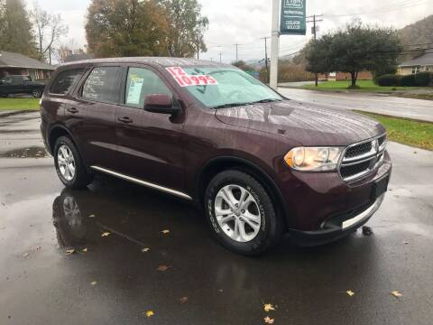 2012 Dodge Durango for sale at Chilson-Wilcox Inc Lawrenceville in Lawrenceville PA