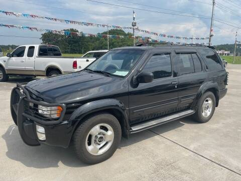2000 Infiniti QX4 for sale at Autoway Auto Center in Sevierville TN