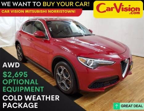 2018 Alfa Romeo Stelvio for sale at Car Vision Mitsubishi Norristown in Trooper PA