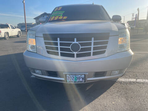 2007 Cadillac Escalade for sale at Low Price Auto and Truck Sales, LLC in Salem OR