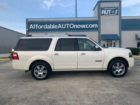 2008 Ford Expedition EL for sale at Affordable Autos in Houma LA