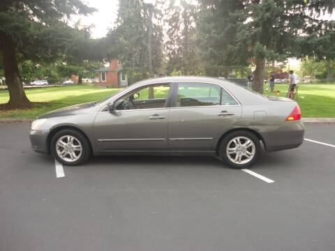 2006 Honda Accord for sale at TONY'S AUTO WORLD in Portland OR