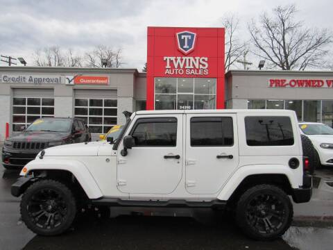 2014 Jeep Wrangler Unlimited for sale at Twins Auto Sales Inc - Detroit in Detroit MI