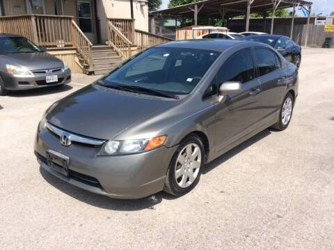 2008 Honda Civic for sale at OASIS PARK & SELL in Spring TX