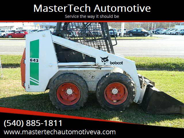 2010 Bobcat 643 for sale at MasterTech Automotive in Staunton VA