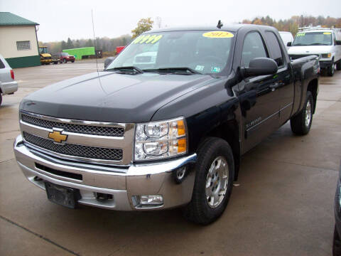 2012 Chevrolet Silverado 1500 for sale at Summit Auto Inc in Waterford PA