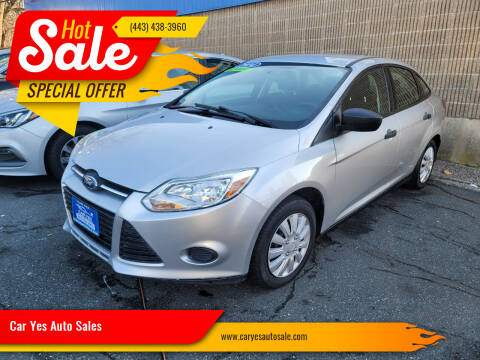 2014 Ford Focus for sale at Car Yes Auto Sales in Baltimore MD