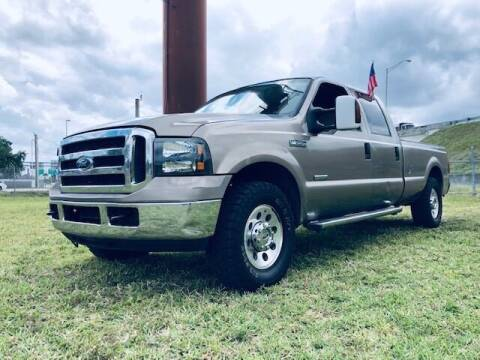 2006 Ford F-250 Super Duty for sale at Venmotors LLC in Hollywood FL
