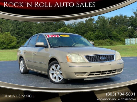 2005 Ford Five Hundred for sale at Rock 'n Roll Auto Sales in West Columbia SC